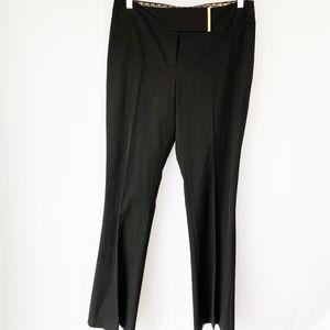 Tahari Straight Leg Black Pant